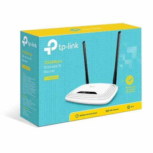 Bộ định tuyến(Router) TL-WR841N TP-Link Wi-Fi chuẩn N tốc độ 300Mbps